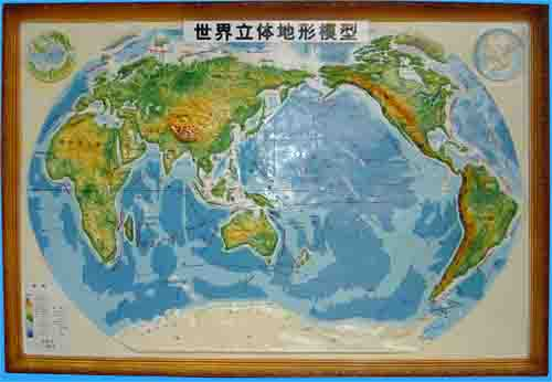 立体地图,立体地形图