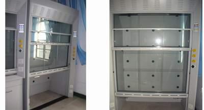 中国生物器材网--落地通风柜(全钢结构)--性能参数