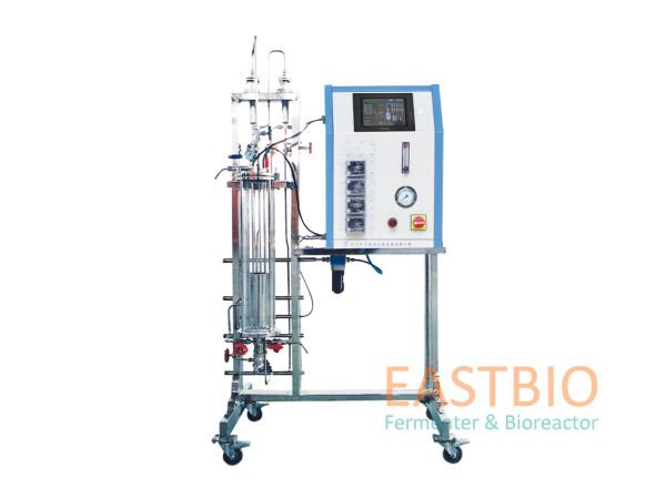 中国生物器材网--气升式玻璃发酵罐--性能参数
