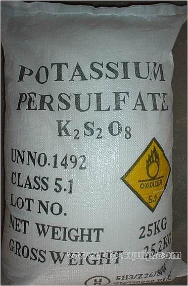 物材网--过硫酸钾--能参数