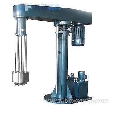 中国生物器材网--液压升降篮式研磨机--性能参数图片