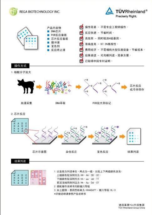 中国生物器材网--种猪基因筛选芯片--性能参数