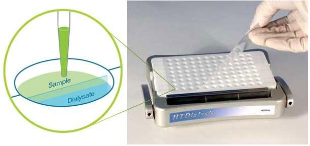 HTD 96通道高通量平衡透析系统