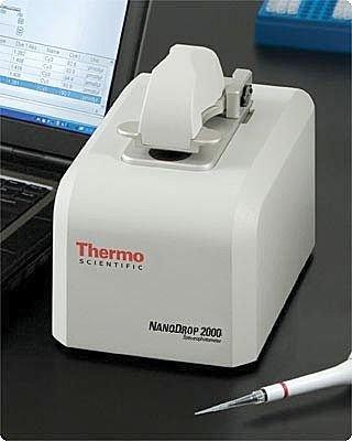 紫外分光光度计价格_nanodrop 2000超微量紫外分光光度计--性能参数,报价/价格,图片 ...