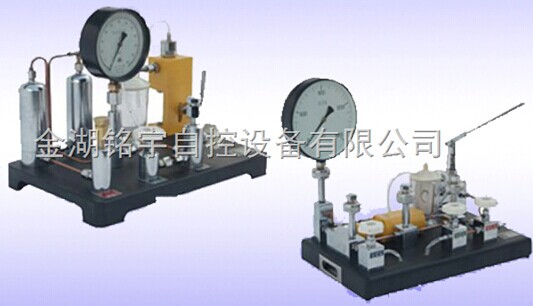 中国生物器材网--禁油压力表校验台--性能参数