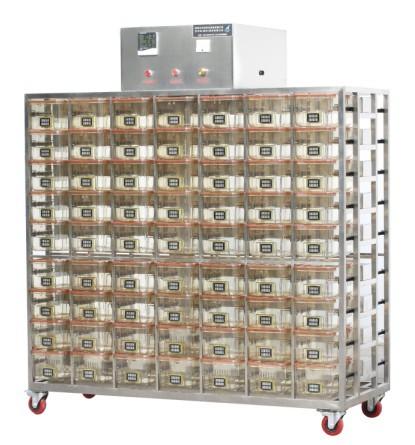 小鼠中央排风通气笼盒系统 EVC