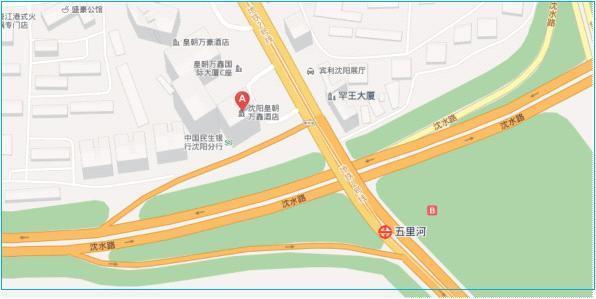万鑫/沈阳皇朝万鑫酒店交通示意图...