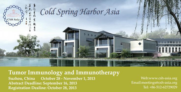 CSH Asia Symposium:Tumor Immunology and Immunotherapy