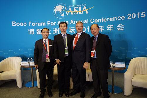 安捷伦团队参加博鳌亚洲论坛2015年年会