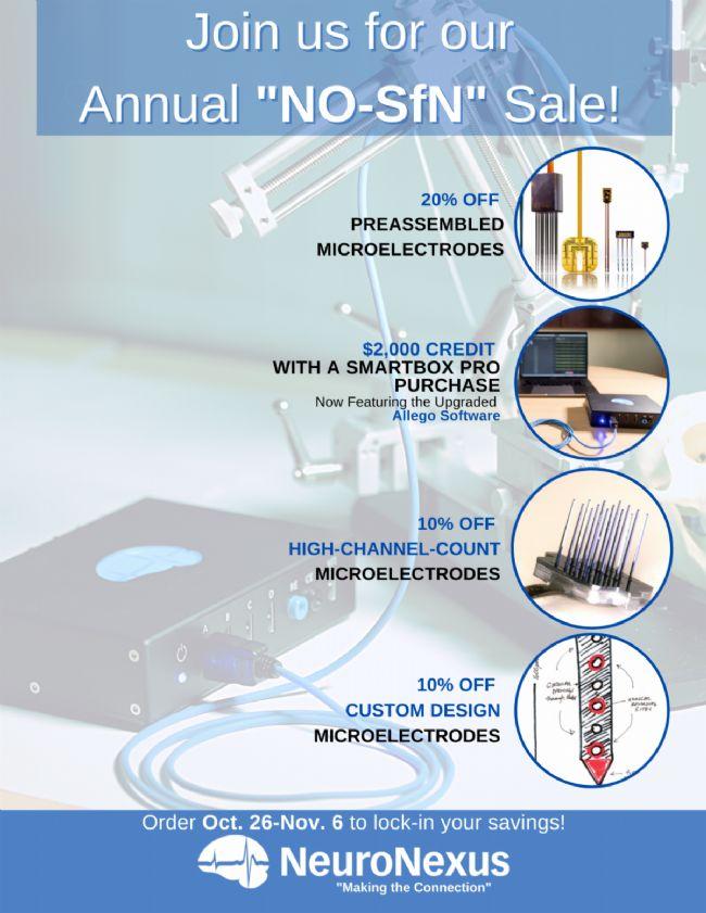 NeuroNexus神经电极产品限时优惠!