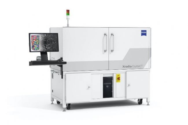 ZEISS Xradia CrystalCT is the world's first commercially built laboratory diffraction contrast tomography (DCT) on a microCT.